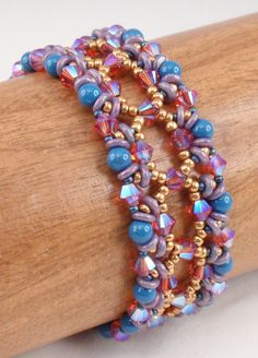 Instructions for Astral Rococo Bracelet Beading by njdesigns1