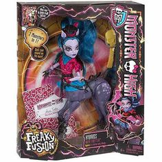 Monster High Freaky Fusion Hybrids Avea Trotter Doll