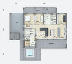Sweet Home, New Homes, Floor Plans, Interior, House, House Beautiful, Indoor, Home, Interiors