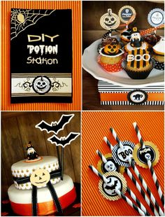 Witch Inspired Halloween party Ideas and DIY decorations with printables!