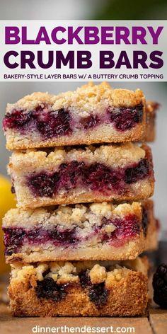 Blackberry Dessert Recipes, Strawberry Desserts, Best Dessert Recipes, Easy Desserts, Delicious Desserts, Yummy Food, Blackberry Cobbler, Yummy Yummy, Cheesecake Desserts