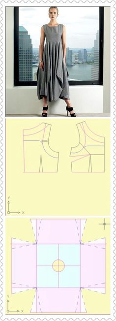 Amazing Sewing Patterns Clone Your Clothes Ideas. Enchanting Sewing Patterns Clone Your Clothes Ideas. Diy Clothing, Clothing Patterns, Dress Patterns, Sewing Patterns, Easy Sew Dress, Diy Dress, Sewing Dress, Sewing Clothes, Sewing Diy