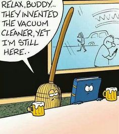 New inventions sad old things