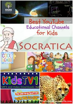There are some awesome YouTube channels that can really help supplement your homeschool lessons or reinforce lessons learned at school. Here are our top ten favorite YouYube channels that encourage learning! | The Happy Housewife