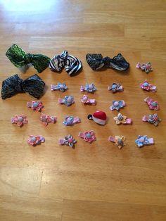 Wholesale Handmade 25 Hair Pieces Lot 5 #Handmade