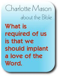 Image result for charlotte mason quote on teaching children to love their home