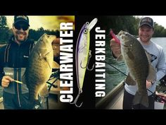 Fishing Jerkbaits for Clearwater Smallmouths - YouTube
