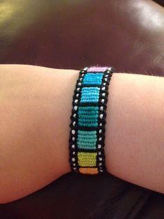 Friendship Bracelet Pattern #14314 - BraceletBook.com