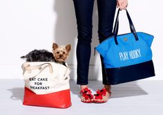 DIY Kate Spade Inspired Canvas Bags | Gillty Pleasure