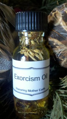 Exorcism Oil Voodoo Hoodoo Conjure by HonoringMotherEarth on Etsy, $7.50