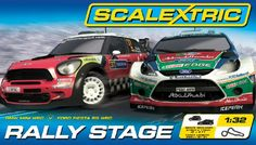 Scalextric C1295 Rally Stage 1:32 Scale Race Set: Amazon.co.uk: Toys & Games