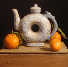 Adam Forfang | OIL | Orange Tea