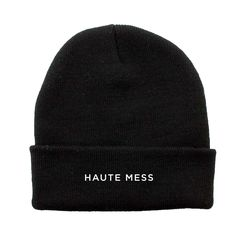 Just imagine the Instagram possibilities of strapping this beanie on and putting on your best resting betch face. Tag us.