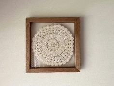 A grea walll hanging for any room in the house. Housewarming gift, wedding gift, birthday gift, etc. Borgmanns Creations Hanging Signs, Hanging Wall Art, Wall Hanger, Hangers, Doily Art, Rustic Home Interiors, Country Farmhouse Decor, Gift Wedding, Crochet Doilies