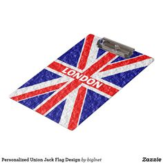 Personalized Union Jack Flag Design