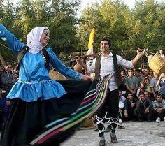 folklore dancing north of Iran