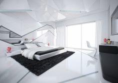 Futuristic, Post Modernistic, Ultra Modern, como lo quiera llamar, esa siempre fue mi visión. Tecnología y arquitectura en su más moderna expresión. No importa lo pequeño del espacio, que sea limpio, ultra moderno, a la vanguardia de la tecnología.