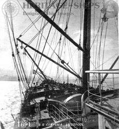 Forecastle of Cunard liner Campania, 1893