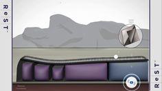 ReST Mattress - Smart Bed