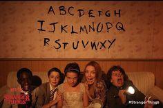 Stranger Things Cast - Caleb McLaughlin, Noah Schnapp, Millie Bobby Brown, Gaten Matarazzo,