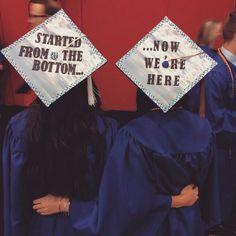 Friends Grad Cap Idea