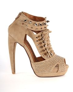 Jeffrey Campbell - Tawny in Nude Suede