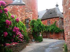 Collonges La Rouge, France- love this place!
