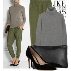 """""""NLST Utility Jogger cotton pants"""" by martso on Polyvore"""