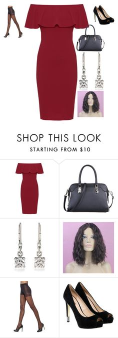 """Untitled #610"" by samson-90 on Polyvore featuring WearAll, Carolee, Hue and GUESS"