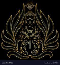 Buddha Drawing, Buddha Art, Buddha Lotus, Buddha Head, Buda Wallpaper, Buddhism Wallpaper, Butterfly Tattoos Images, Buddhism Symbols, Buddha Tattoo Design