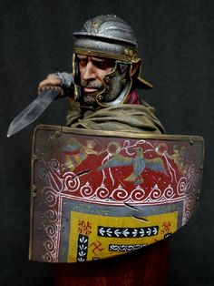 Roman Warriors, Roman Legion, Roman Soldiers, Ancient Rome, Diorama, Painting & Drawing, Medieval, Military, History