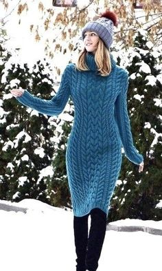 Sweater Outfits sweater dress outfits ideas how to wear sweater dresses Sweater Outfits. Here is Sweater Outfits for you. Sweater Outfits white sweater outfits every fashion girl is wearing. Sweater Outfits picture of comf. Winter Outfits Women, Winter Fashion Outfits, Winter Dresses, Fall Outfits, Autumn Fashion, Sweater Dress Outfit, Sweater Outfits, Knit Dress, Dress Outfits