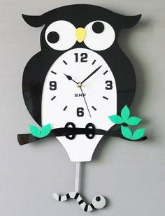 Tinksky Coccinella del fumetto muro orologio da parete insetto per ...
