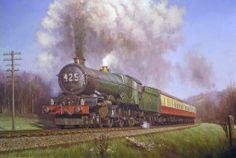 Great Western Railway King » Transport Artist