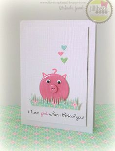 A darling Jillibean Soup card by Melinda Spinks.