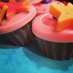 Cupcake Goat Milk Soaps from The Awakening Soap Company