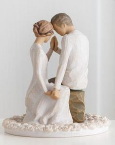 Willow Tree Around You Cake Topper -  from the Official ChristmasOrnamentStore.com