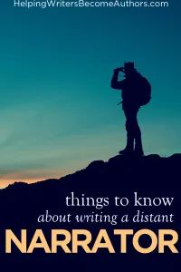 Would Your Story Benefit From a Distant Narrator? - Helping Writers Become Authors Authors, Writers, Scott Fitzgerald, Writing Resources, Your Story, Benefit, Writer