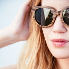 Claudia contributes an extra dose of unique style that compliments your look on daily excursions or adventure filled road trips. Stylish Sunglasses, Round Sunglasses, Summer Madness, Warm Weather, Sunnies, Eyewear, Fashion Accessories, That Look, Style Inspiration