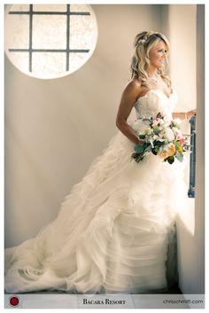 Beautiful Bacara Resort Wedding Bride