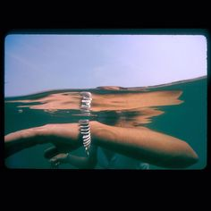 Taking a dip in the magic water of the Pacific is elevated with the Beaming bracelet!