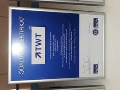 Wir sind natürlich stolz wie bolle! :) Gerade eingetroffen: Das #BVDW #Zertifikat für Qualitätsagenturen 2013.