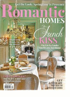 We are so excited to be partnering with Soft Surroundings and Romantic Homes Magazine today on our French Country Fall Home Tour, along with twelve of our very favorite french country bloggers! Be sure and scroll all the way to the bottom of the post for links to the other fabulous homes dressed up for … … Continue reading →
