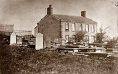 Haworth Parsonage as it was in the time of the Brontes. Bronte Parsonage, Holly King, Bronte Sisters, Riders On The Storm, Reading At Home, Northern England, Charlotte Bronte, Wuthering Heights, National Portrait Gallery