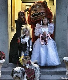 Family Labyrinth Halloween Costumes