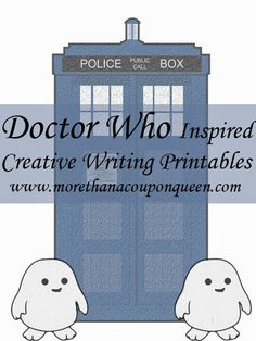 *FREE* Doctor Who Creative Writing Prompts