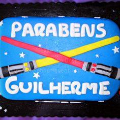 Bolo da Guerra das Estrelas - StarWars  #GuerraDasEstrelas #StarWars #Cake #Bolos #Chocolate #Cupcake #CakeDesign #Oeiras #Lisboa