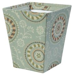 I pinned this Jennifer Taylor Fortune Wastebasket from the Organized Closet event at Joss and Main!