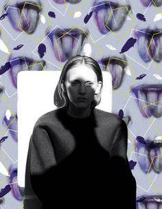 ▲二枚舌 / Duplicity▼  #gara #art #fashion #design #pattern #textile #graphic #graphicdesign #drawing #photo #柄 #japan #illustration #handdrawing