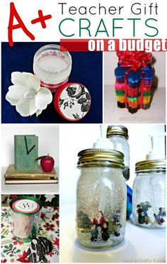 Budget-Friendly Homemade Teacher Gifts - Mad in Crafts